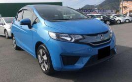 2014 Honda fit Light Blue