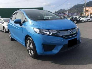2014 Honda fit Light Blue