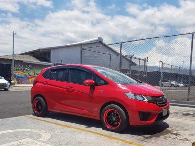 Honda Fit 2014 (Red)